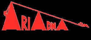 Logos Ariadna rojo transparente