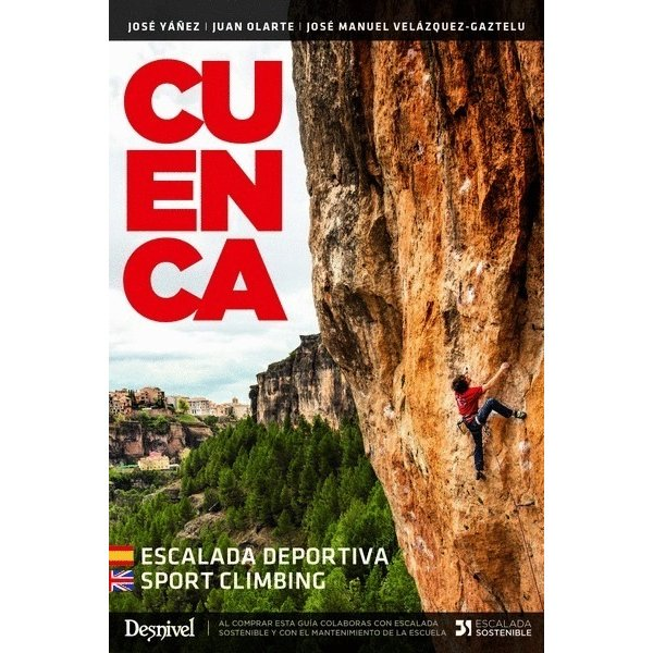 Cuenca. Escalada deportiva DESNIVEL