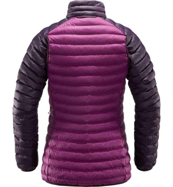 Essens Mimic Jacket Women espalda Lilac acai berry HOGLOeFS