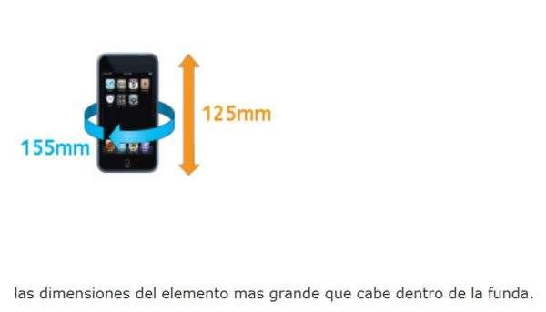 Funda Estanca para iPod iPhone y mp3 518 medidas interiores AQUAPAC 1