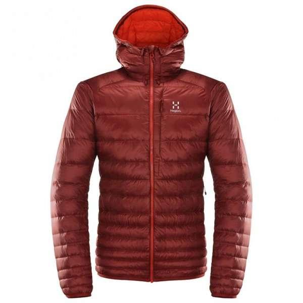 haglofs essens iii down hood down jacket
