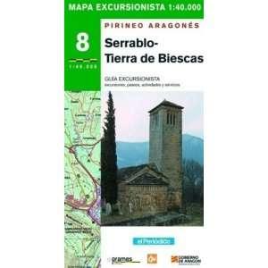serrablo-biescas-mapa
